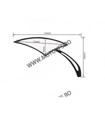 Set oglinzi racing Universal Prindere suruburi Negru 8mm / 10mm Cod 6UY3Y SF014  Oglinzi universale 135,00RON 135,00RON 113...