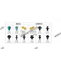 SET HE55-195pcs CLIPSURI CLEME AUTO DE PLASTIC 8KXVZ HE55-195pcs  Clipsuri 80,00RON 80,00RON 67,23RON 67,23RON