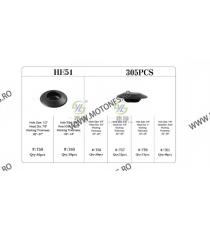 SET HE51-305pcs CLIPSURI CLEME AUTO DE PLASTIC HZUVZ HE51-305pcs  Clipsuri 100,00RON 100,00RON 84,03RON 84,03RON