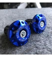 Set Capete de ghidon moto/motocicleta/atv universale Albastru C73T3 C73T3  Capete De Ghidon Universale DSV-554 45,00RON 45,...