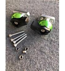 Z750 2007-2011 Z1000 2007-2008 Z800 ZR800 ABS 2015 2016 Kawasaki Buloane Protectie Carena Crash Pad-uri Frame Slider KWU5L KW...