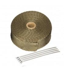 Banda termoizolanta din titanium pt evacuare ( toba) 50 mm x 2 mm x 10 M XRL-130-1 XRL-130-1  Protectie Toba 75,00RON 75,00...