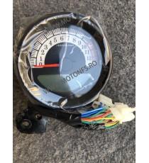 12V Universal Motorcycle LCD Digital Speedometer Odometer Gear Fuel Oil Gauge JQXD0  kilometraj universal  260,00RON 260,00...