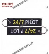 24 / 7 Pilot Breloc Brodat Pe Ambele Fete Y2ASI Y2ASI  Breloc Chei 10,00RON 10,00RON 8,40RON 8,40RON
