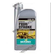 MOTOREX - FOUR STROKE 15W50 - 1L 940-964  MOTOREX 45,00RON 41,00RON 37,82RON 34,45RON product_reduction_percent