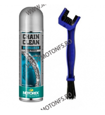 MOTOREX OFERTA - CHAIN CLEAN SPRAY - 500ml (SPRAY CURATARE LANT) + PERIE LANT 980-166-OUT1015  MOTOREX  65,00 RON 55,00 RON 5...