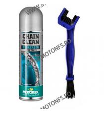 MOTOREX OFERTA - CHAIN CLEAN SPRAY - 500ml (SPRAY CURATARE LANT) + PERIE LANT 980-166-OUT1015  MOTOREX  65,00RON 55,00RON 5...