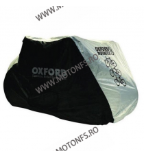 - 3 BIKES - OXFORD - AQUATEX BICYCLE COVER BLACK/SILVER OX-CC102  Huse moto 115,00 RON 99,00 RON 96,64 RON 83,19 RON product_...