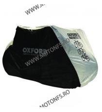 - 2 BIKES - OXFORD - AQUATEX BICYCLE COVER BLACK/SILVER OX-CC101  Huse moto 105,00RON 89,00RON 88,24RON 74,79RON product_...