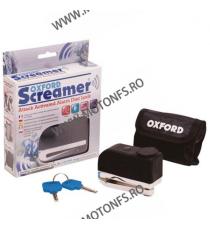 OXFORD - SCREAMER DISC ALARM LOCK - CHROME OX-OF229  Antifurt 155,00lei 139,00lei 130,25lei 116,81lei product_reduction_p...