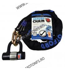 OXFORD - CHAIN10 10mm X 1.4M CHAIN & LOCK OX-LK144  Antifurt 185,00lei 159,00lei 155,46lei 133,61lei product_reduction_pe...