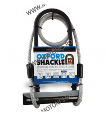 OXFORD - SHACKLE12 DUO ULOCK & 1.2M CABLE OX-LK332  Antifurt 105,00RON 95,00RON 88,24RON 79,83RON product_reduction_percent