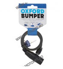 OXFORD - BUMPER CABLE LOCK 600mm X 6mm - SMOKE OX-OF02  Antifurt 20,00RON 20,00RON 16,81RON 16,81RON