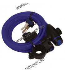 OXFORD - CABLE LOCK 1.8M X 12mm - BLUE OX-OF245  Antifurt 40,00RON 36,00RON 33,61RON 30,25RON product_reduction_percent