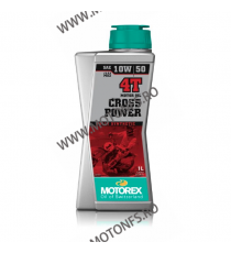 MOTOREX - CROSS POWER 10W50 - 1L 940-064  MOTOREX 82,00 RON 74,00 RON 68,91 RON 62,18 RON product_reduction_percent