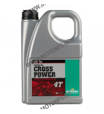 MOTOREX - CROSS POWER 5W40 - 4L 940-365  MOTOREX 315,00 RON 259,00 RON 264,71 RON 217,65 RON product_reduction_percent