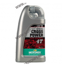 MOTOREX - CROSS POWER 5W40 - 1L 940-364  MOTOREX 82,00 RON 74,00 RON 68,91 RON 62,18 RON product_reduction_percent