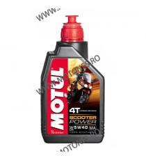 MOTUL - SCOOTER POWER 5W40 (MA) - 1L M5-958  MOTUL  60,00RON 54,00RON 50,42RON 45,38RON product_reduction_percent