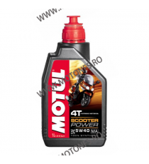 MOTUL - SCOOTER POWER 5W40 (MA) - 1L M5-958  MOTUL  60,00 RON 54,00 RON 50,42 RON 45,38 RON product_reduction_percent