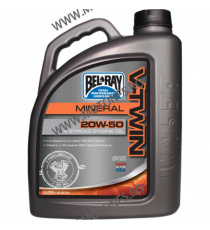 ULEI BEL-RAY V-TWIN 20W50 MINERAL 4L 96905-BT4  BEL-RAY  173,00RON 156,00RON 145,38RON 131,09RON product_reduction_percent