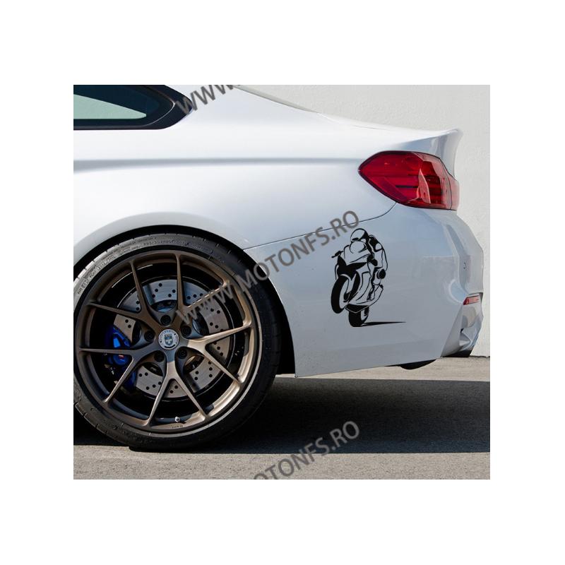 19.6cm x 15cm Autocolant / Sticker Moto / Auto Reflectorizante Stikere Carena Moto IYY32  autocolante Carena 10,00RON 10,00...