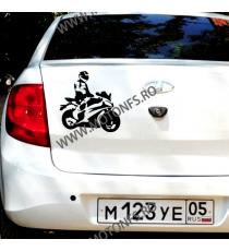 15cm x 15cm Autocolant / Sticker Moto / Auto Reflectorizante Stikere Carena Moto 3BZ4U  Autocolante Carena 10,00lei 10,00le...