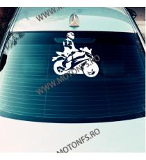 15cm x 15cm Autocolant / Sticker Moto / Auto Reflectorizante Stikere Carena Moto FE4DY  Autocolante Carena 10,00lei 10,00le...