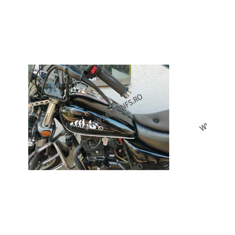 19cm x 8.5cm Autocolant / Sticker Moto / Auto Reflectorizante Stikere Carena Moto V4KIE  autocolante Carena 10,00RON 10,00R...