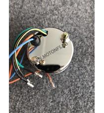 Bord electronic moto LED LCD kilometraj digital universal Cafe Racer motocicleta B715+B717 B715+B717  kilometraj universal  1...