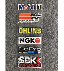 Set Autocolant / Stickere Pentru Moto ATV 0YBPR 0YBPR  Stickere Carena Moto  20,00RON 20,00RON 16,81RON 16,81RON