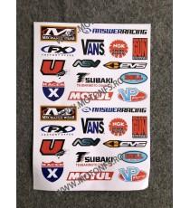 Set Autocolant / Stickere Pentru Moto ATV 37Q9V 37Q9V  Stickere Carena Moto  15,00RON 15,00RON 12,61RON 12,61RON