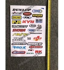 Set Autocolant / Stickere Pentru Moto ATV X76EN X76EN  Stickere Carena Moto  15,00RON 15,00RON 12,61RON 12,61RON