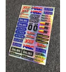 Set Autocolant / Stickere Pentru Moto ATV AT2E5 AT2E5  Stickere Carena Moto  15,00RON 15,00RON 12,61RON 12,61RON