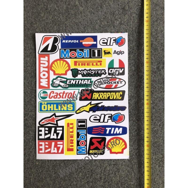 Set Autocolant / Stickere Pentru Moto ATV D6BMI D6BMI  Stickere Carena Moto  15,00RON 15,00RON 12,61RON 12,61RON