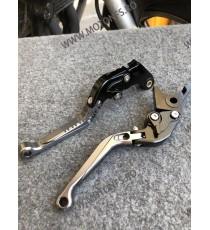 Set MANETE FRANA / AMBREIAJ - PRELUNGITE RABATABILE , pentru 3 sau 4 degeteYamaha Honda Suzuki Dugati KTM BMW QC8TJ QC8TJ  Ma...