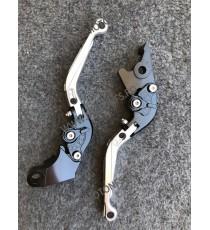 SET MANETE FRANA / AMBREIAJ - PRELUNGITE RABATABILE , pentru 3 sau 4 degeteYamaha Honda Suzuki Dugati KTM BMW 3P70R 3P70R  Ma...
