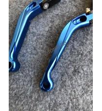 SET MANETE FRANA / AMBREIAJ - PRELUNGITE RABATABILE , pentru 3 sau 4 degeteYamaha Honda Suzuki Dugati KTM BMW 17C8M  Manete R...