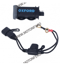 OXFORD - USB 2.1AMP FUSED POWER CHARGING KIT OX-EL114 OXFORD Voltmetru / Prize Moto 105,00 lei 94,00 lei 88,24 lei 78,99 lei ...