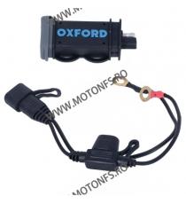 OXFORD - USB 2.1AMP FUSED POWER CHARGING KIT OX-EL114 OXFORD Voltmetru / Prize Moto 105,00lei 94,00lei 88,24lei 78,99lei ...