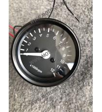 Bord electronic moto LED LCD kilometraj (Techometer) digital universal Cafe Racer motocicleta SWF84  kilometraj universal  78...
