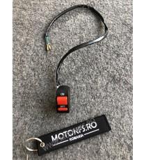 buton avarii / Comutator / întrerupator ghidon Moto - lumini, lumini avarie moto BA21546 BA21546  Comenzi Ghidon  22,00lei 2...