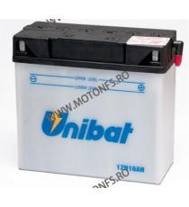 UNIBAT - Acumulator cu intretinere 12N16AH-SM (Yuasa: 51913) (BMW 51913) U295-483-SM UNIBAT Baterii UNIBAT 445,00lei 399,00...
