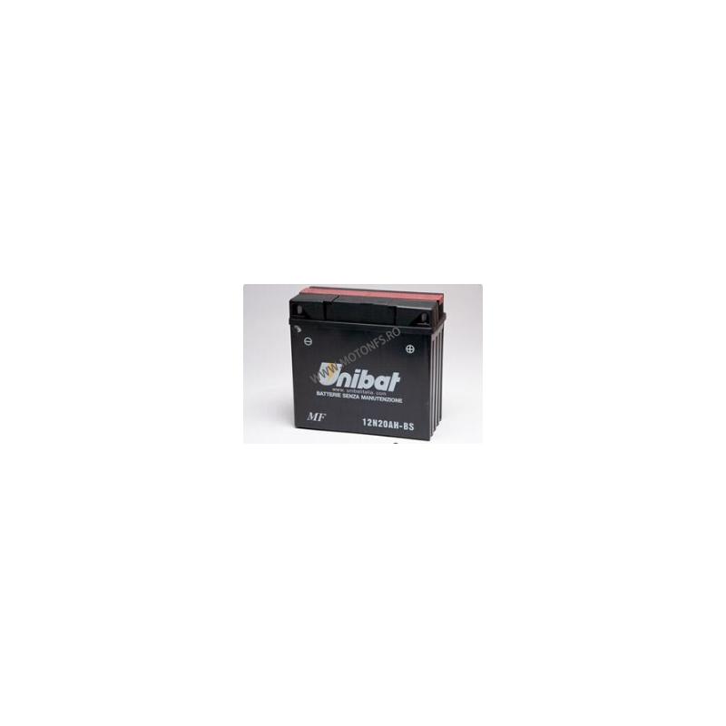 UNIBAT - Acumulator cu intretinere 12N20AH-SM (Yuasa: 52015) U295-246-SM UNIBAT Baterii UNIBAT 410,00lei 369,00lei 344,54l...