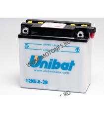 UNIBAT - Acumulator cu intretinere 12N5-3B-SM (Yuasa: 12N5-3B) U295-112-SM UNIBAT Baterii UNIBAT 165,00lei 165,00lei 138,66...