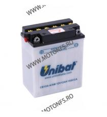 UNIBAT - Acumulator cu intretinere CB12A-A-SM (Yuasa: YB12A-A) U295-240-SM UNIBAT Baterii UNIBAT 265,00lei 240,00lei 222,69...