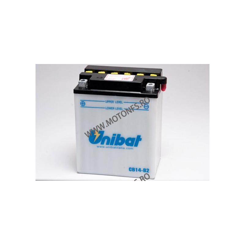 UNIBAT - Acumulator cu intretinere CB14-B2-SM (Yuasa: YB14-B2) U295-264-SM UNIBAT Baterii UNIBAT 335,00lei 302,00lei 281,51...