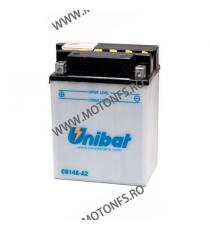 UNIBAT - Acumulator cu intretinere CB14A-A2-SM (Yuasa: YB14A-A2) U295-266-SM UNIBAT Baterii UNIBAT 370,00lei 370,00lei 310,...