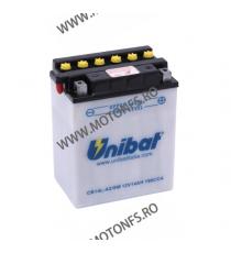 UNIBAT - Acumulator cu intretinere CB14L-A2-SM (Yuasa: YB14L-A2) U295-269-SM UNIBAT Baterii UNIBAT 290,00lei 261,00lei 243,...