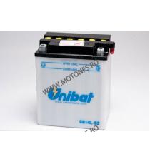 UNIBAT - Acumulator cu intretinere CB14L-B2-SM (Yuasa: YB14L-B2) U295-271-SM UNIBAT Baterii UNIBAT 305,00lei 274,00lei 256,...