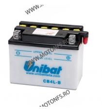 UNIBAT - Acumulator cu intretinere CB4L-B-SM (Yuasa: YB4L-B) U295-299-SM UNIBAT Baterii UNIBAT 105,00lei 105,00lei 88,24le...